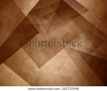 Abstract Brown Sepia Background Elegant Triangle Pattern Design Element On Light Or Tan
