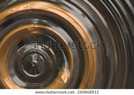 Abstract brown spiral background