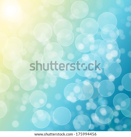 Abstract bubbles cute colorful wallpaper. - stock photo