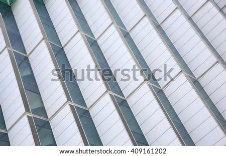 Abstract building exterior wall