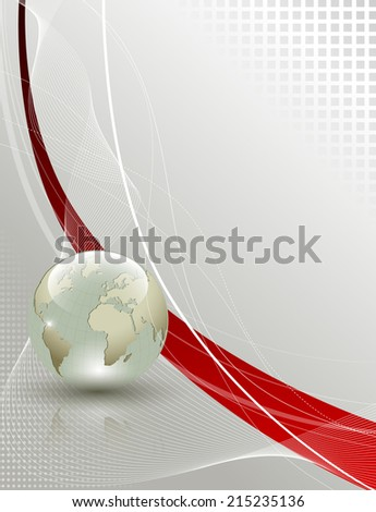 Abstract business and travel background - stock photo