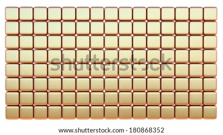 abstract business background made of many matted metallic blocks