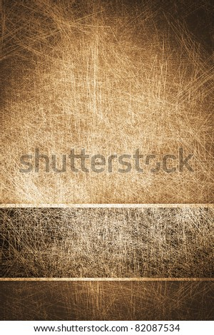 abstract cards with scratch surface - stock photo