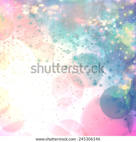 Abstract celebration background with grunge style design concept. Ideal for vintage style fashion cover designs. - stock photo