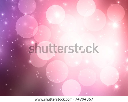Abstract celebration blurred lights background - stock photo