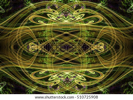 Abstract Celtic Knot Background