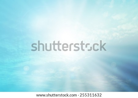 abstract christian nature filters background with blank space for Your text or image - stock photo
