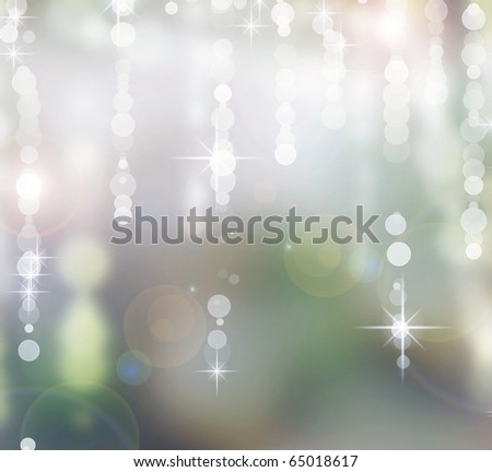 Abstract Christmas background.Holiday bokeh - stock photo