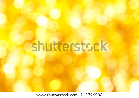 Abstract Christmas background of silver and gold chain - stock photo