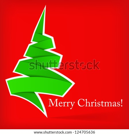 Abstract Christmas Background - Vector version in portfolio