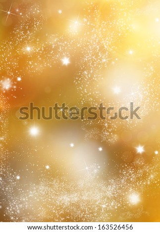 Abstract christmas blurred background - stock photo