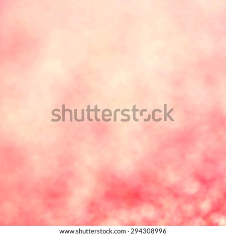 Abstract Christmas Glitter background with pink lights. Festive defocused background.