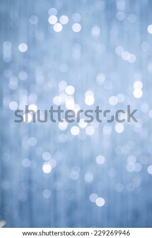 Abstract christmas lights on background - stock photo