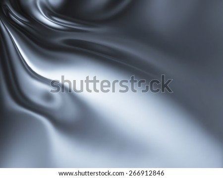 abstract chrome background - computer generated  for your projects - stock photo