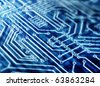 Abstract Circuit Board - stock vector