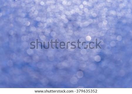 Abstract circular bokeh background - stock photo