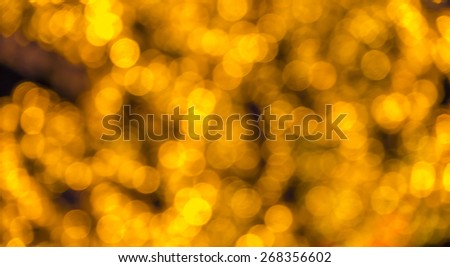 Abstract circular bokeh background of LED bulblight