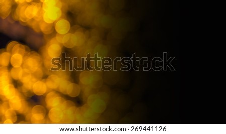 Abstract circular bokeh background of LED bulblight  - stock photo