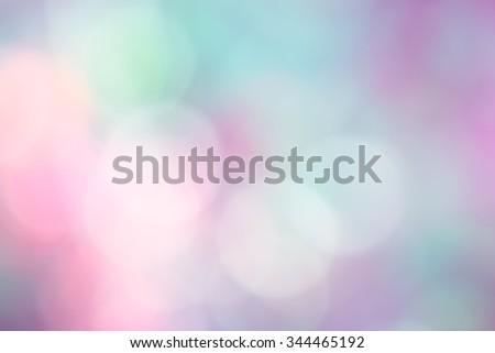 Abstract circular bokeh blur background - stock photo