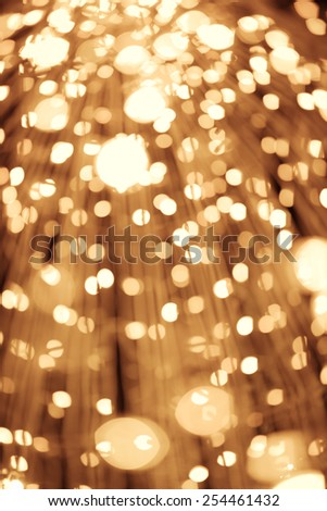 Abstract circular bokeh lights background - stock photo