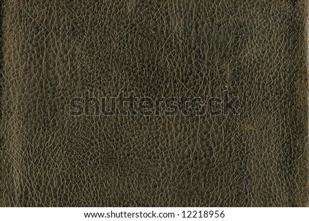 Abstract - close-up of a brown leather - stock photo