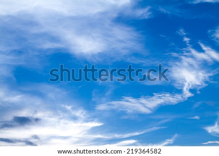 abstract cloud and sky