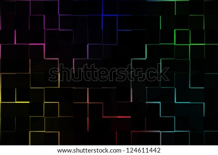 Abstract Color Background CG