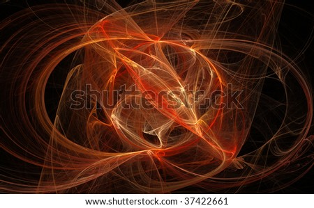 Abstract color fractal