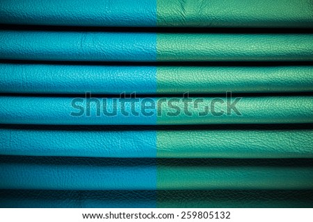 Abstract color natural leather texture, leather background - stock photo