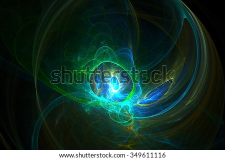 Abstract colored background, fractal wallpaper art