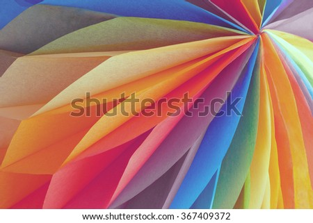 Abstract colored paper background - stock photo