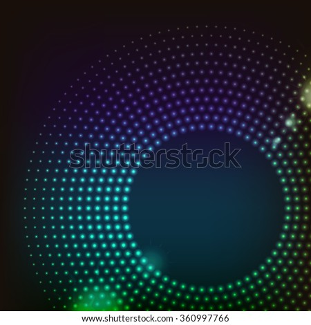 Abstract colored  shape for your business idea editable logo illustration. - stock photo