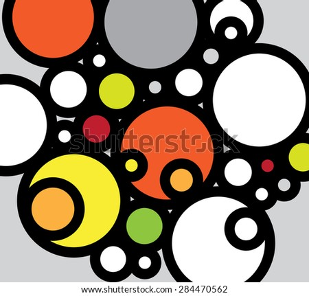 Abstract colorful background - stock photo