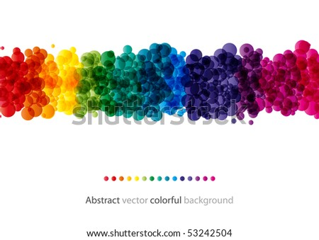 Abstract colorful background (bitmap) - stock photo