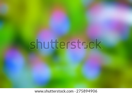 abstract colorful blur spring background - stock photo