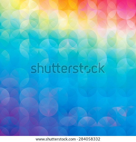 Abstract colorful circle background.  - stock photo