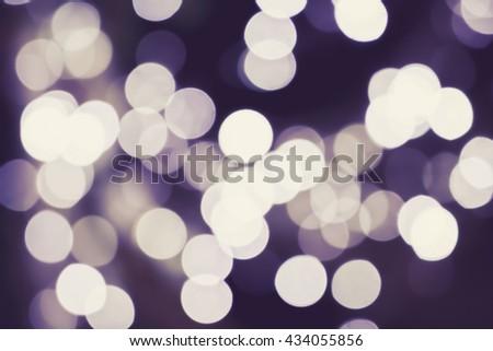 Abstract colorful defocused circular facula, abstract bokeh background - stock photo