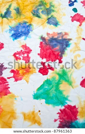 Abstract colorful drawing - stock photo