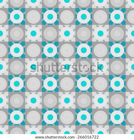 Abstract colorful geometric seamless pattern. Mosaic repeating background texture  - stock photo