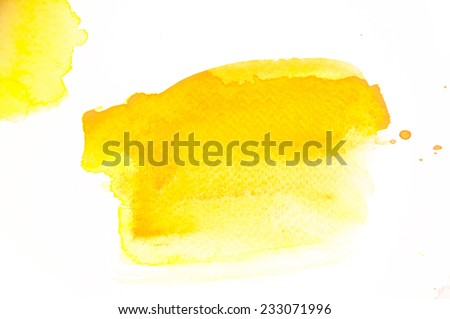 abstract colorful hand painted watercolor on paper texture background isolate on white background