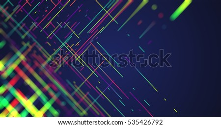 Abstract colorful illustration for advertising, high-res picture