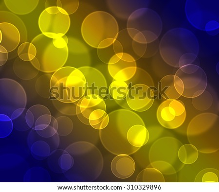Abstract colorful light spot bokeh background