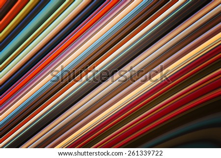 Abstract colorful lines background - stock photo