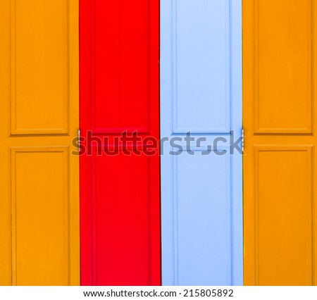 abstract colorful of  wood texture background