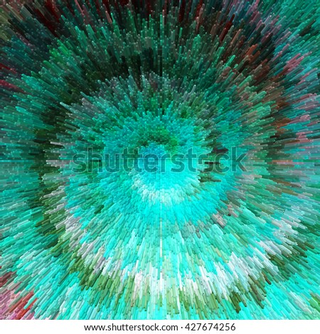 Abstract colorful textured background. Illustration. - stock photo