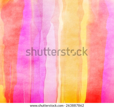 Abstract colorful water color for background. - stock photo