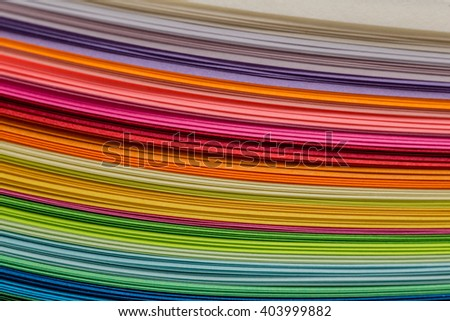 Abstract colourful paper background
