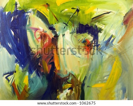Abstract colours backgrounds from oil canvas - I am author of this image