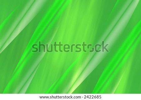 abstract composition, leaf of green plant - stock photo
