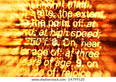 Abstract concept background for Information overload. Great as a background or a design element. - stock photo